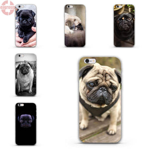 cheap for discount 86783 19bd3 Dog/pug print soft cellphone Cases – Go Pugs