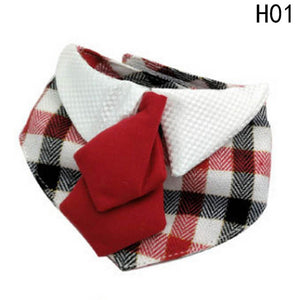 Adjustable Puppy Bow-Knot Tie Bandana - Go Pugs