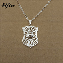 2018 Trendy Hollow Pug Necklace - Go Pugs