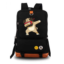 Cool Pug Casual Lightweight Canvas Backpack (8 colors) - Go Pugs