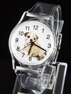Pug Transparent Quartz Watch - Go Pugs