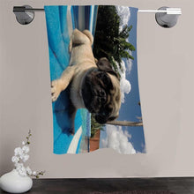 Pug Cotton Bath Towel 140cmx70cm (22 selections) - Go Pugs