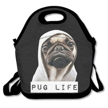 3D/Cartoon Pug Print Insulated Light Weight Waterproof Lunch Bags/Shoulder Bag (11 selections) - Go Pugs