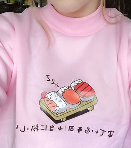CARTOON SUSHI SWEATER