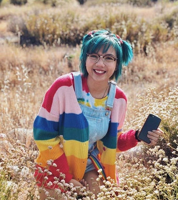 BORING RAINBOW SWEATER