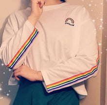 RAINBOW EMBROIDERED SWEATER