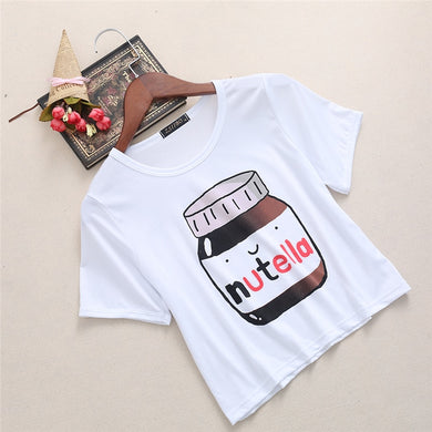 NUTELLA CROP TOP
