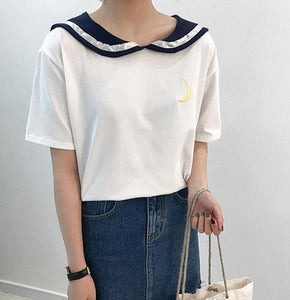 SAILOR COLLAR TOP