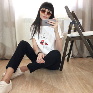 RED LIPS TEE-SHIRT