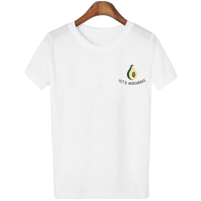 CARTOON AVOCADO TEE-SHIRTS