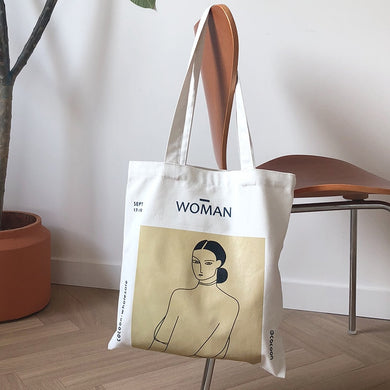 WOMAN CANVAS BAG
