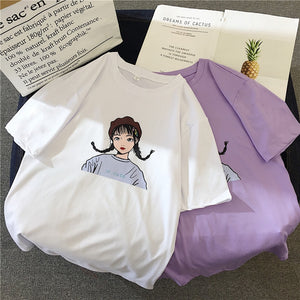 KAWAII GIRL TEE-SHIRT
