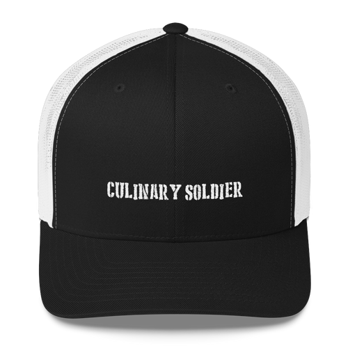 Culinary Soldier - Trucker Cap