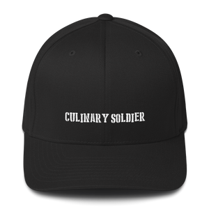 Culinary Soldier - Structured Flexfit Twill Cap