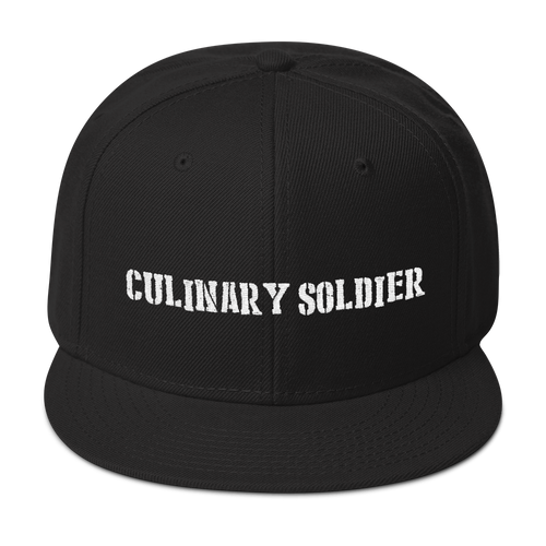Culinary Soldier - Snapback Hat