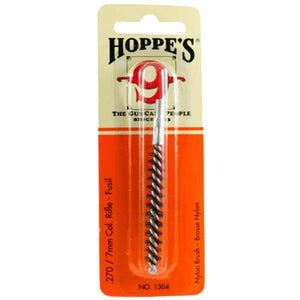 Hoppe's 9 Nylon Bore Brush - Rifle .270 Cal / 7mm