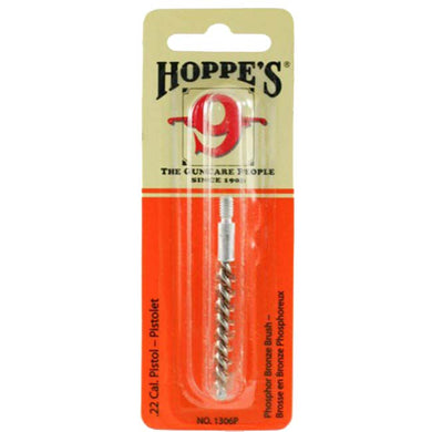 Hoppe's 9 Phosphor Bronze Bore Brush - Pistol .22 Cal