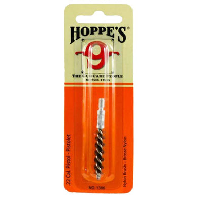 Hoppe's 9 Nylon Bore Brush - Pistol .22 Cal