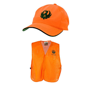 Ruger Hunter Safety Vest and Cap Combo