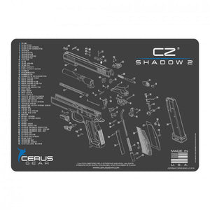 Cerus Gear - CZ Shadow 2 Schematic Handgun Promat