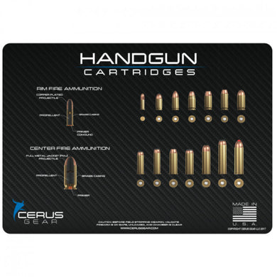 Cerus Gear - Top Handgun Cartridges Promat