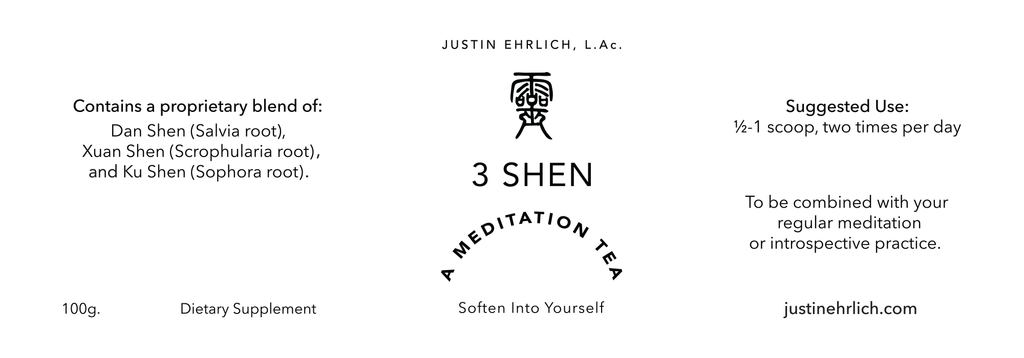 3 Shen Meditation Tea — Helping You Soften into Yourself