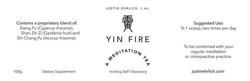 Yin Fire Meditation Tea — Inviting Self-Discovery