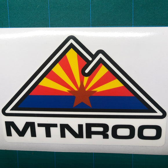 MtnRoo Arizona Flag Sticker