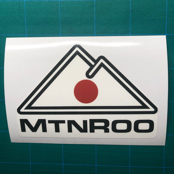 MtnRoo Japan Flag Sticker