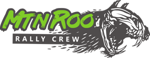 Limited Green MtnRoo Rally Crew Slap Sticker