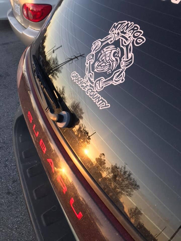 Orange County Chapter Decal