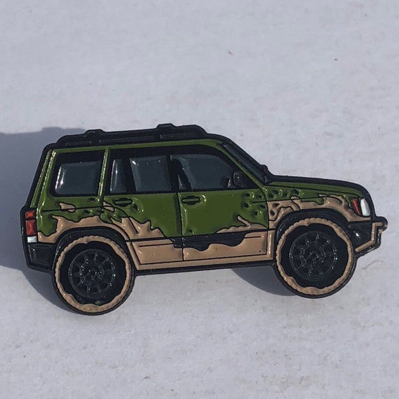 Remix Series - Forester Pin