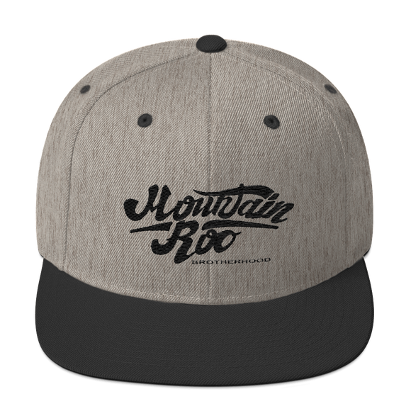 Pastime Heather Snapback Hat