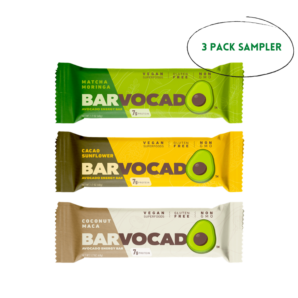 Sampler Pack: 3-1.7 oz Bars