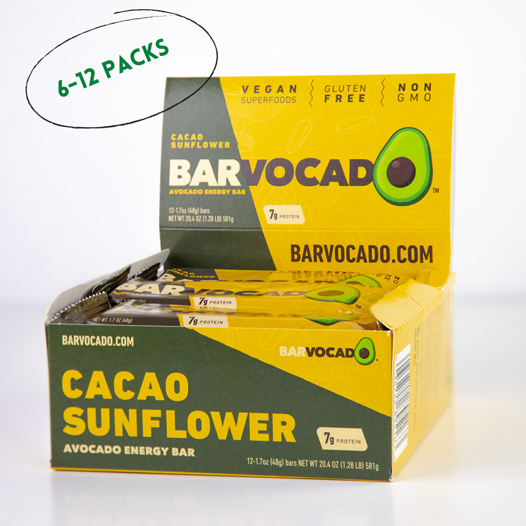 Cacao Sunflower:  6-12 Bar Boxes