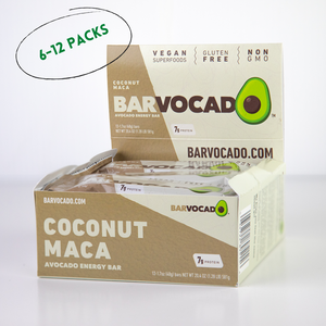 Coconut Maca: 6-12 Bar Boxes