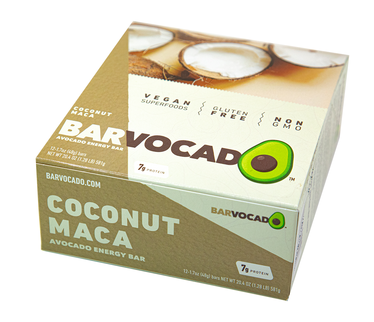 Coconut Maca: 12 Bar Box