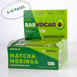 Matcha Moringa: 6-12 Bar Boxes
