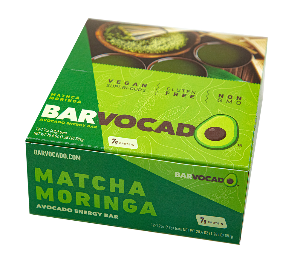 Matcha Moringa:  12 Bar Box