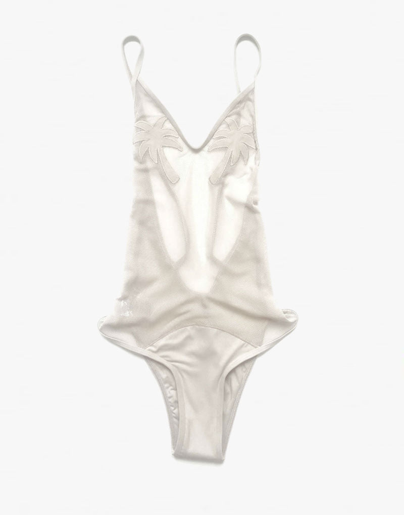 Minimale Animale Golden Triangle One Piece Swimsuit