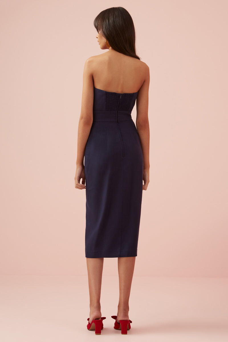 Designer Brand: Finders Keepers Product: Limoncello Dress - Navy