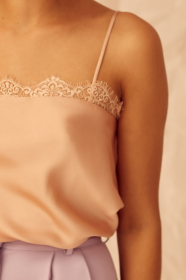 Designer Brand: Keepsake The Label Product: Keepsake Don't Go Camisole - Nude