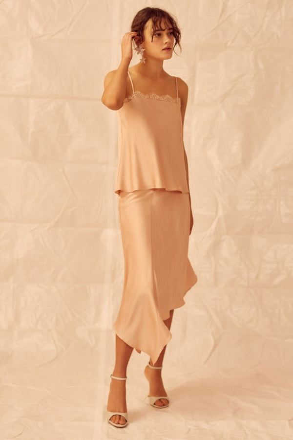 Designer Brand: Keepsake The Label Product: Keepsake Don't Go Skirt - Nude