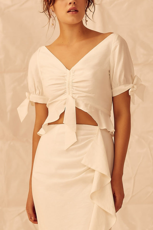 Designer Brand: Keepsake The Label Product: Keepsake Luminous Top - Ivory