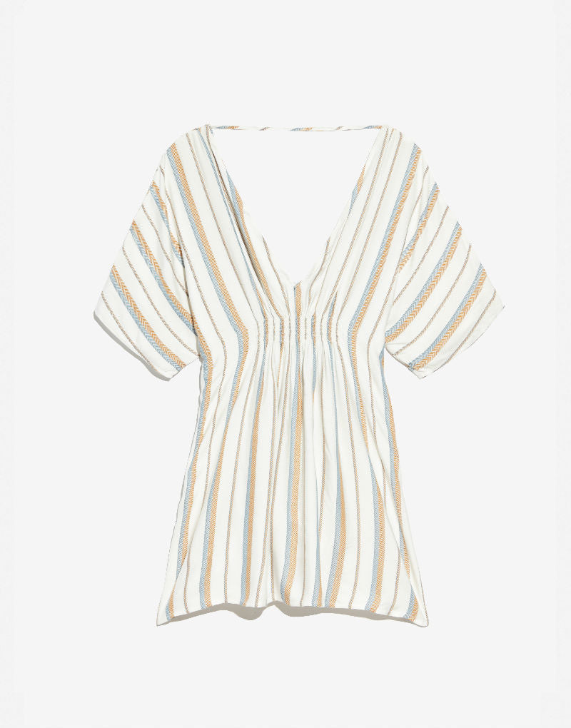 Designer Brand: Onia Product: Onia Alessandra Stripe Beach Dress