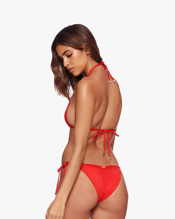 Designer Brand: Beach Bunny Product: Beach Bunny Ireland Ring Tie Side Bottom – Red