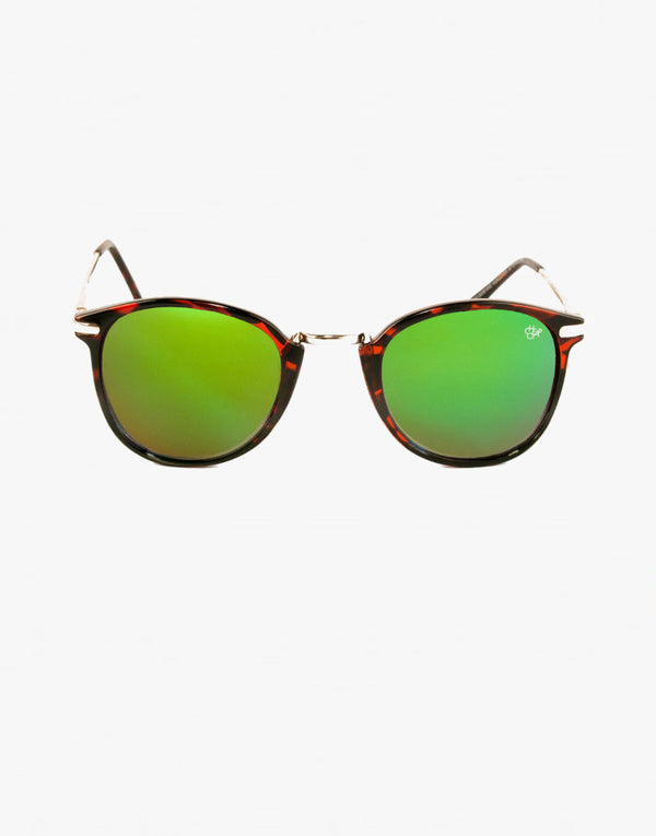 CHPO Nile Unisex sunglasses - Green Tint - PEEPING-T
