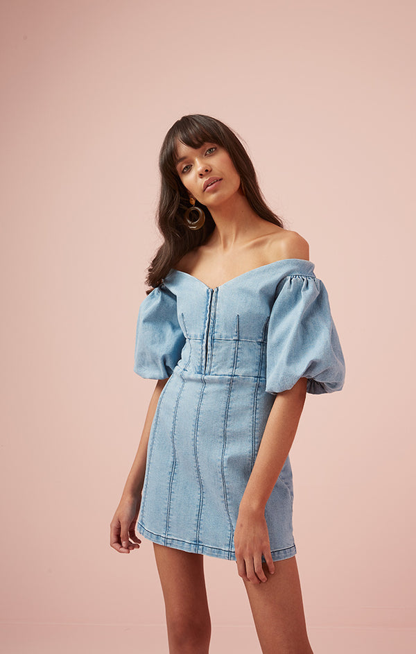 Designer Brand: Finders Keepers Product: Lemonade Dress - Denim