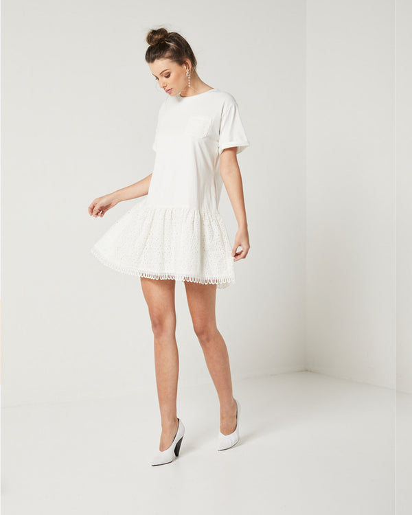 Designer Brand: Elliatt Product: Elliatt Blossom T-Shirt Dress