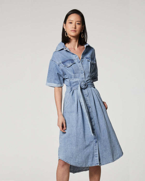 Designer Brand: Elliatt Product: Slate Denim Dress